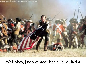 Well okay, just one small battle - if you insist