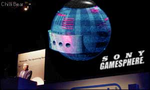 Announcing the equally new and original Sony GameSphere